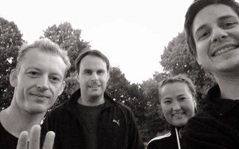 Hier ein Foto von unserem heutigen YP Running Meet Up