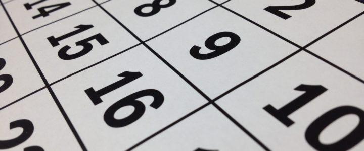 Jahresplanung 2018 online